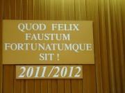 Inauguracja Roku Akademickiego UUTW 2011/2012