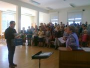 Podziękowania i pożegnanie naszego pianisty – Tomasza Kaznowskiego