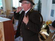 Wizyta pana Tadeusza podczas próby