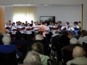 Koncert kolędowy dla pacjentów Zakładu Opiekuńczo-Leczniczego im. Sue Ryder