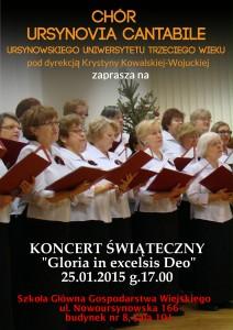 Koncert dla Rodzin 25.01.2015