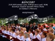 Koncert w kościele Piotra i Pawła na warszawskich Pyrach