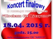 """Koncert Laureatów III Przeglądu Polskiej Piosenki – """"Kocham Cię Ojczyzno"""""""