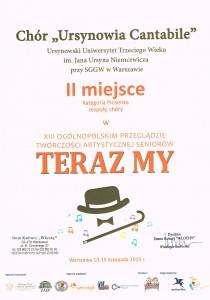 ursynovia - dyplom listopad 2015 teraz my